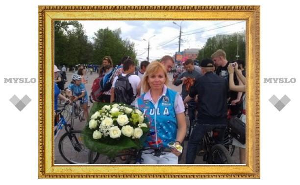 """Туляки организовали """"Победный"""" велопробег"""