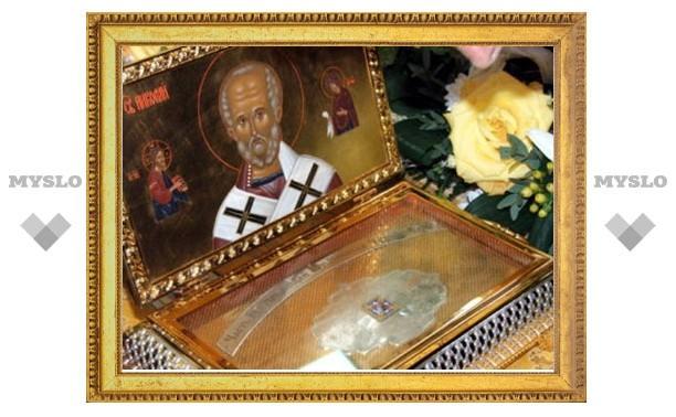 В Тулу привезут мощи Святителя Николая