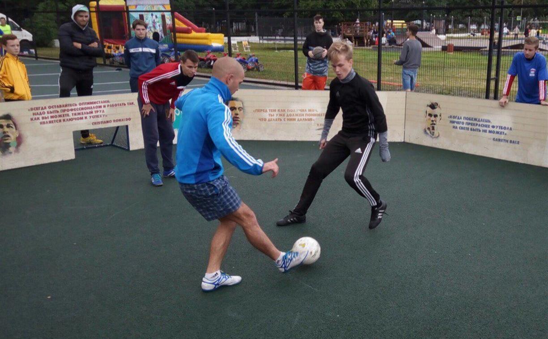 В Туле пройдут турниры по уличному футболу