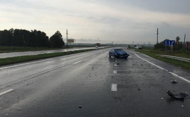 В тройном ДТП на автодороге «Тула-Новомосковск» пострадал ребенок