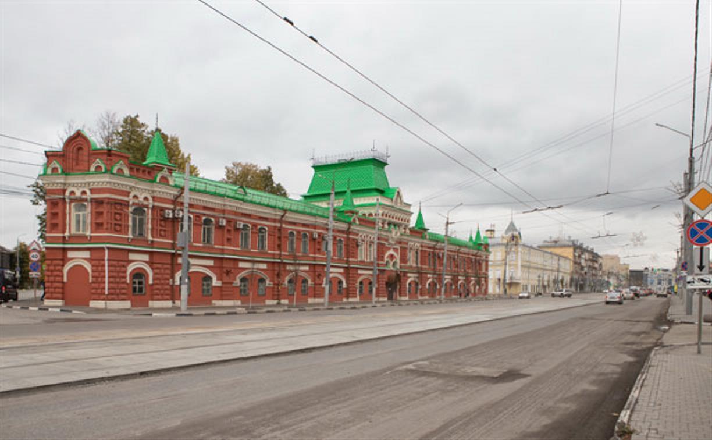 На ул. Советской в Туле убрали дорожные ограждения с трамвайных путей