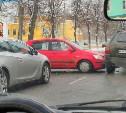 На ул. Фридриха Энгельса из-за ДТП образовалась пробка