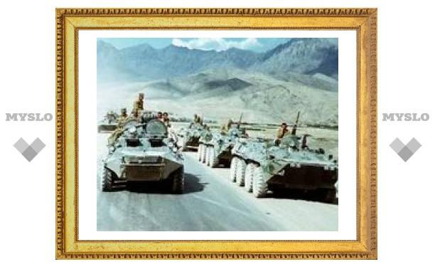 В Донском установили стелу воинам-афганцам
