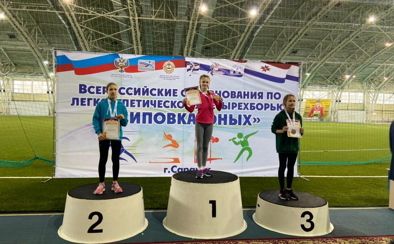 Тульские легкоатлеты привезли из Мордовии пять медалей