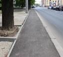 В Туле проводится ремонт тротуаров