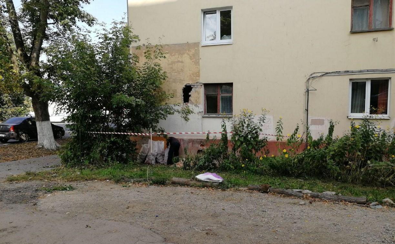 Тулгорэлектротранс отремонтирует пробитую в ДТП с троллейбусом стену дома