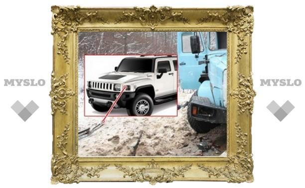 В ДТП с маршруткой «Тула-Москва» виноват таинственный Hummer