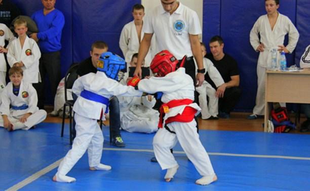 Тульские рукопашники из ДЮСШ «Металлург» стали лидерами на соревнованиях в Новомосковске