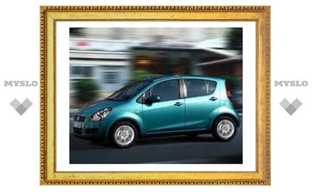 Двойник Opel Agila получит имя Suzuki Splash