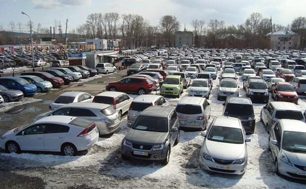 Объем продаж на вторичном автомобильном рынке сократился за первый месяц 2015 года на 9,3%