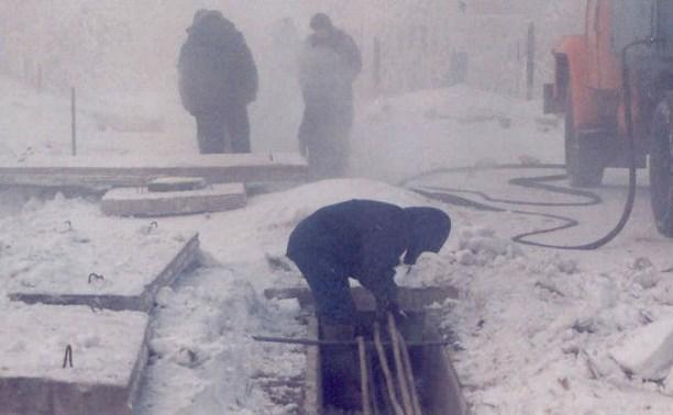 На ул. Столетова отремонтировали канализацию