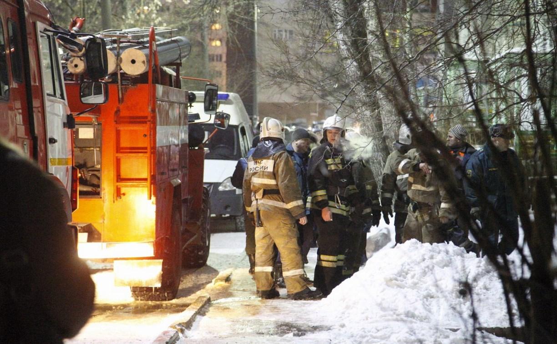 Пожар на улице Демидовской: мужчина с ножом бросался на полицейского