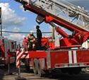 Чернские пожарные спасли взрослого и ребенка