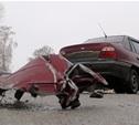 Под Тулой в ДТП попали семь машин
