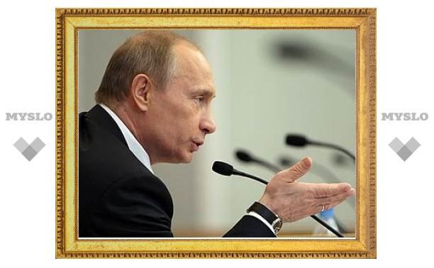Путин проведет видеоконференцию с МЧСниками Тулы