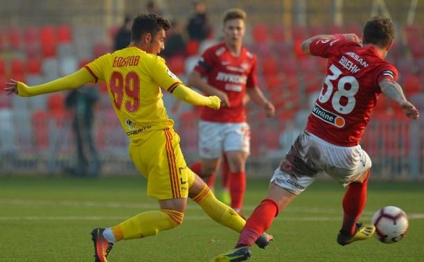 Молодежка «Арсенала» крупно проиграла «Спартаку»