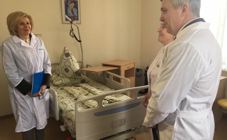Наталия Пилюс: «Опыт тульского хосписа нужно передавать другим учреждениям»