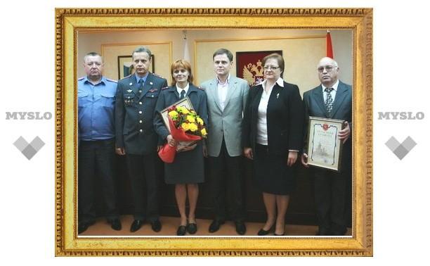 Владимир Груздев наградил полицейских за поимку убийцы пятерых человек