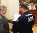 В УМВД вручили медали и награды отличившимся на службе в ГИБДД