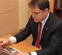 Владимир Груздев ознакомился со строительством городского парка и ФОКа в Ефремове