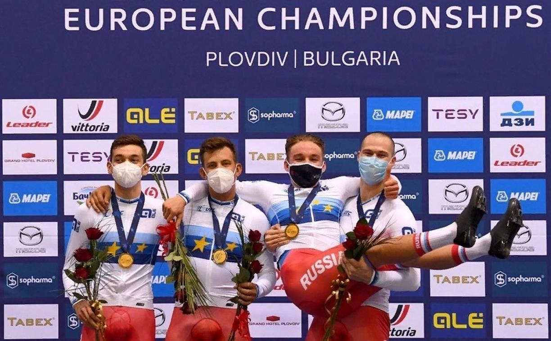 Туляки завоевали медали на чемпионате Европы по велоспорту