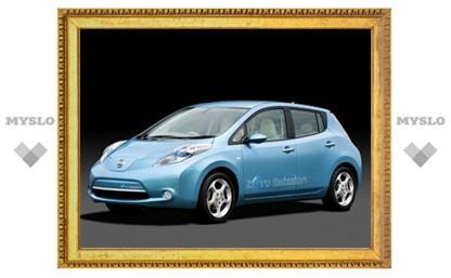 Nissan решил продавать электрокар Leaf в четырех европейских странах
