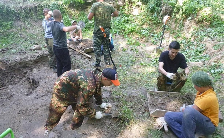 Под Алексином поисковики обнаружили останки солдат, погибших во время Великой Отечественной войны