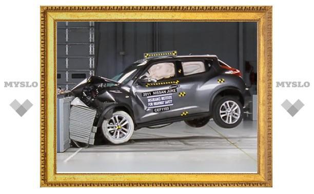 Американцы проверили безопасность 13 новых автомобилей
