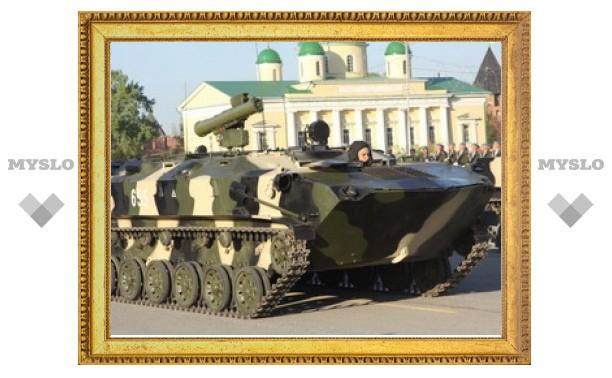 В Тулу ворвались боевые машины десанта