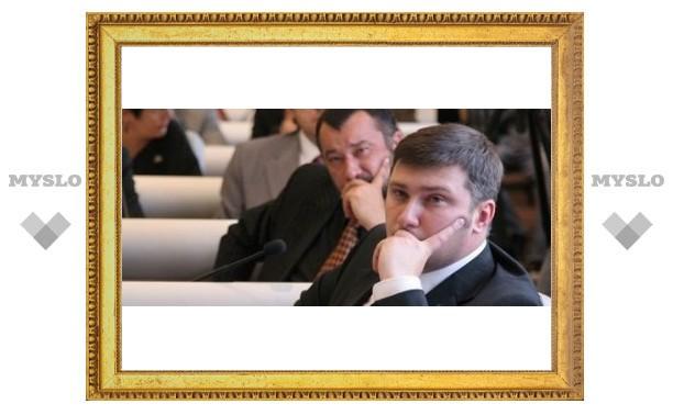 Тульские депутаты не поделили деньги