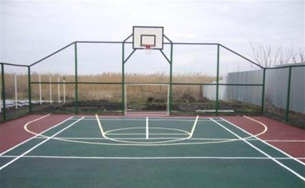 В Заречье построят открытую спортивную площадку