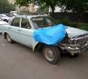 Очень невезучие туляки пытались угнать старую «Волгу» в Москве