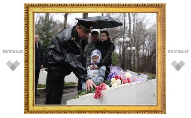 В Туле откроют мемориальную доску в память о погибшем на службе милиционере