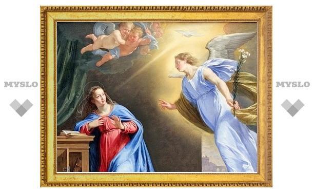 В субботу 7 апреля туляки празднуют Благовещение