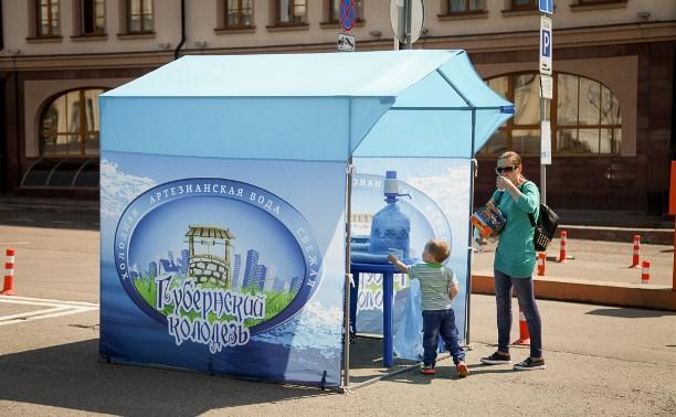 Где в Туле бесплатно раздают питьевую воду