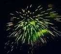 В Туле отгремел праздничный фейерверк