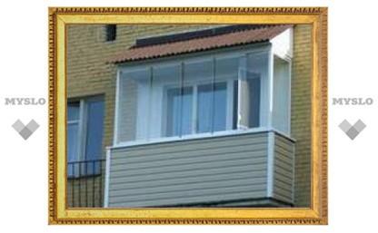 В Тульской области отремонтируют балконы