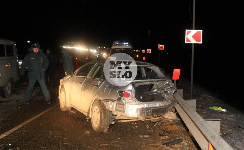 Страшное ДТП на трассе «Крым» в Щекинском районе: возбуждено уголовное дело