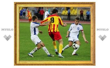 Тульский «Арсенал-2» уступил лидеру турнира