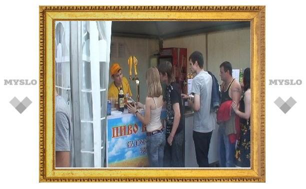 В Туле полиция провела контрольную закупку пива