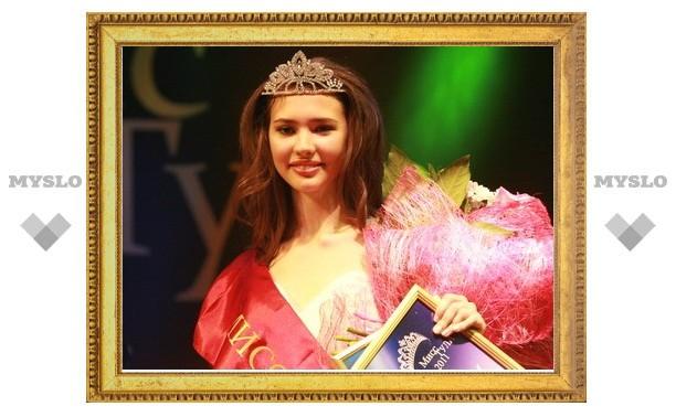Первой красавицей Тулы стала Настя Маркелова