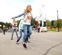 На День города в Центральном парке прошел чемпионат по дворовым играм «Прыгалки-2015»