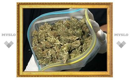 У наркомана нашли полкило «травки»
