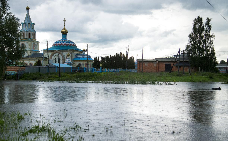 Село Дедилово Тульской области ушло под воду: фоторепортаж