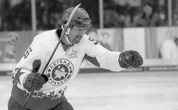 Во время матча «Легенды хоккея» в Туле умер Сергей Гимаев