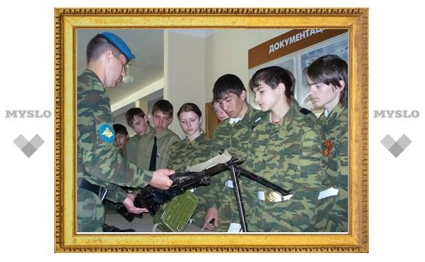 Тульских школьников призвали в десант