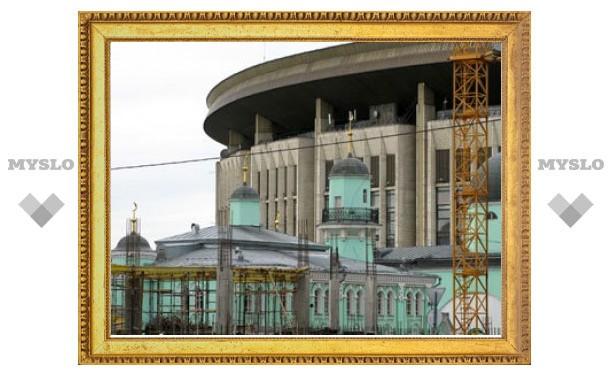 Снесено старое здание Московской соборной мечети
