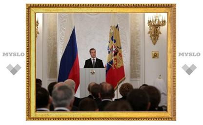 Медведев внес в Госдуму законопроект об упрощении регистрации партий
