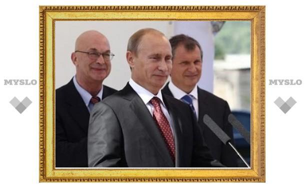 Путин открыл новый институт нефти и газа