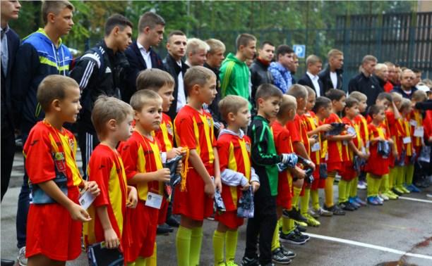 Спортшкола тульского «Арсенала» пополнилась новыми воспитанниками